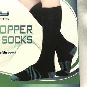 Knee High Copper Compression Socks size S/M